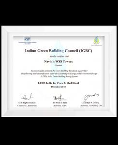 IGBC Certification 2010